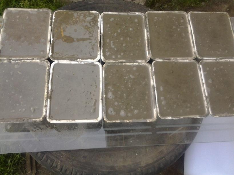 Смазка для форм тротуарной плитки: какую выбрать? 1-4