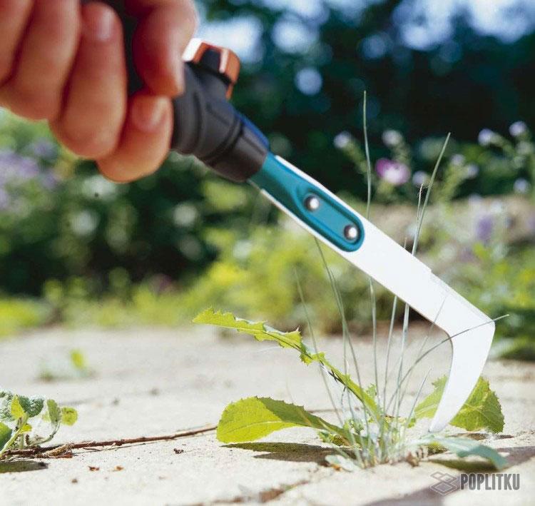 Как избавиться от травы между тротуарной плиткой: эффективные способы 13-2