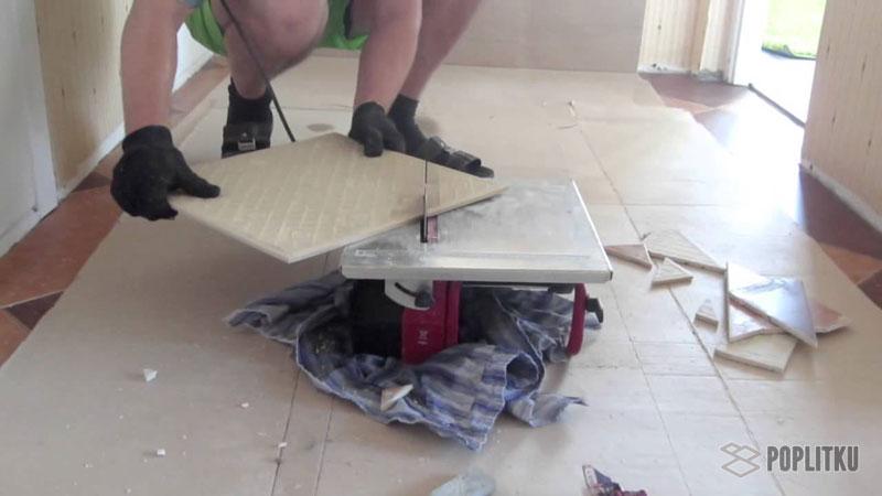 Чем резать керамогранитную плитку