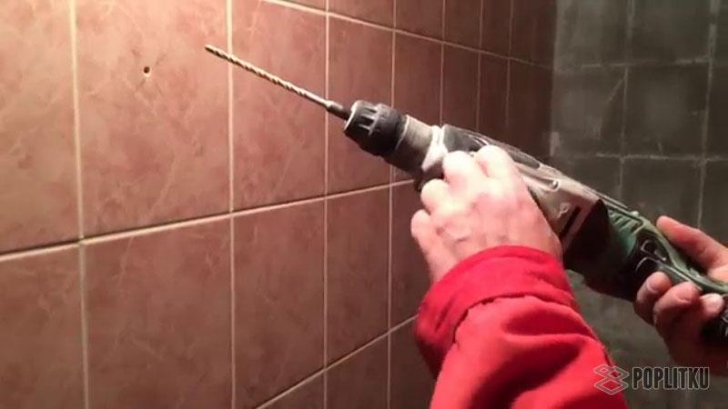 Как сверлить кафельную плитку на стене самостоятельно? 9-4