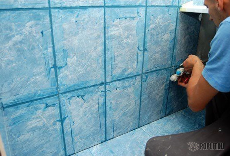 Как положить плитку в туалете своими руками? 14-5