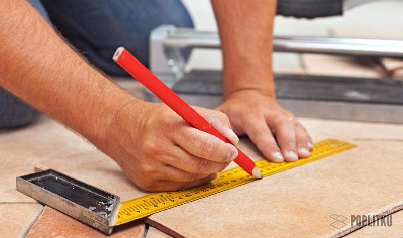 Как положить кафельную плитку на деревянный пол самостоятельно? 2-4