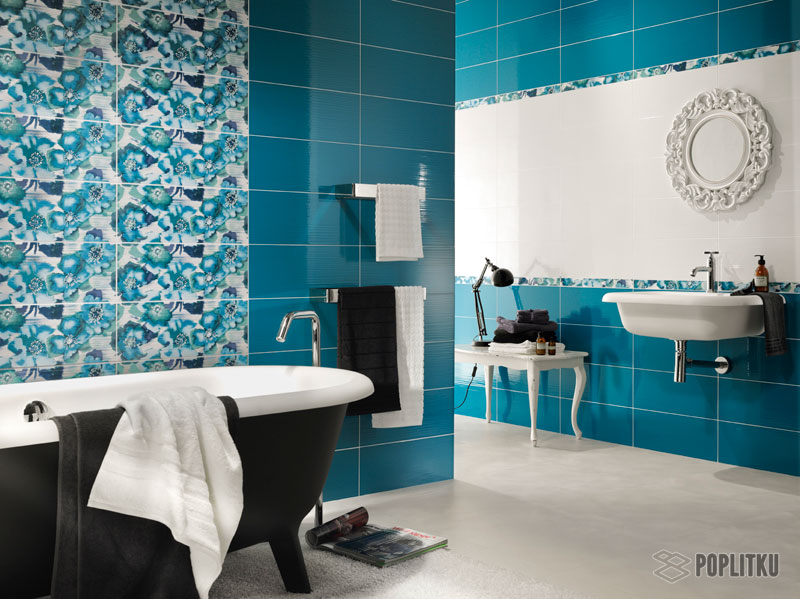 Чем отделать ванную комнату кроме плитки: выбираем лучшие материалы 15-2