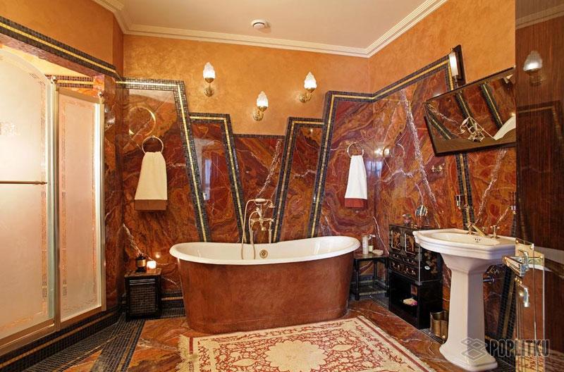 Чем отделать ванную комнату кроме плитки: выбираем лучшие материалы 15-5