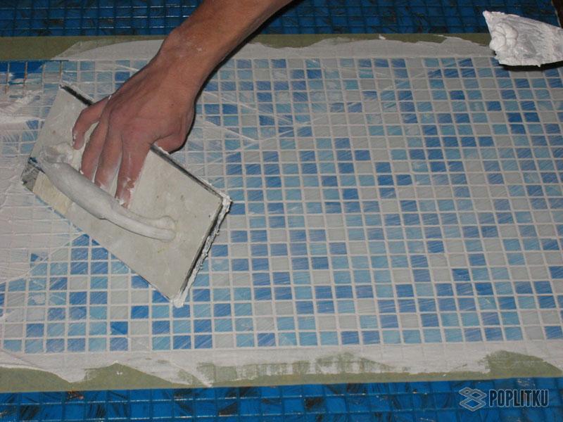 Какую выбрать затирку для плитки в ванной: подбор по цвету 19-4