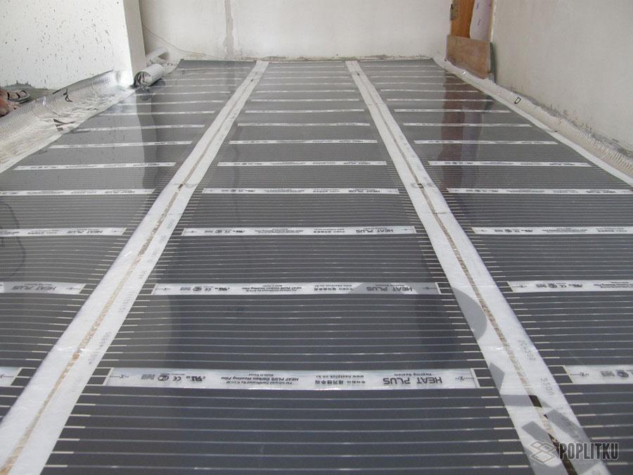Водяной теплый пол под плитку своими руками: этапы монтажа конструкции 21-8