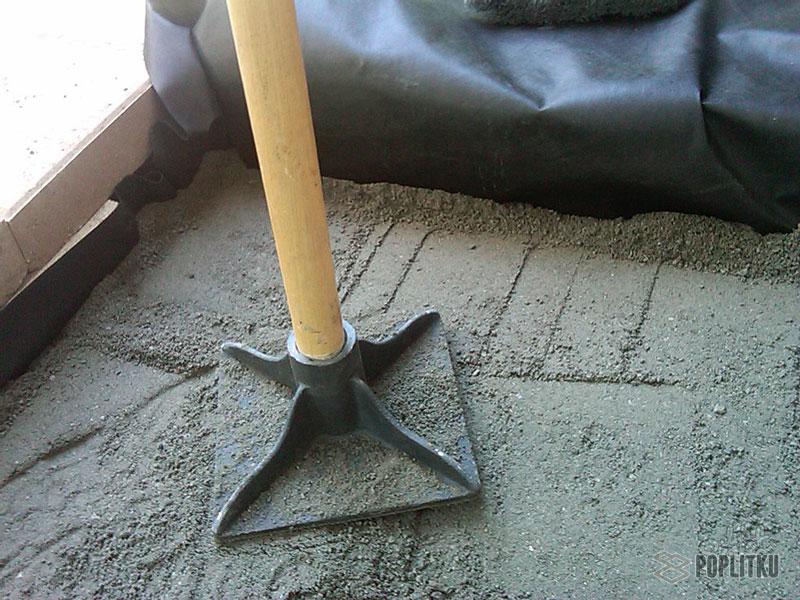 Как положить тротуарную плитку на бетонное основание: все этапы монтажа 26-3
