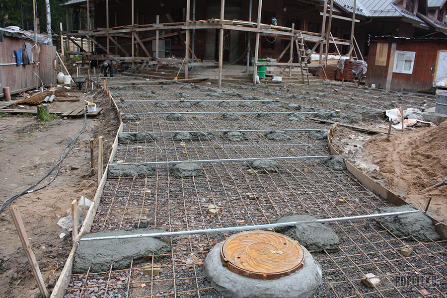 Как положить тротуарную плитку на бетонное основание: все этапы монтажа 26-8