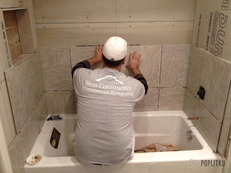 Какой клей лучше для плитки в ванной: разновидности и рейтинг 27-6