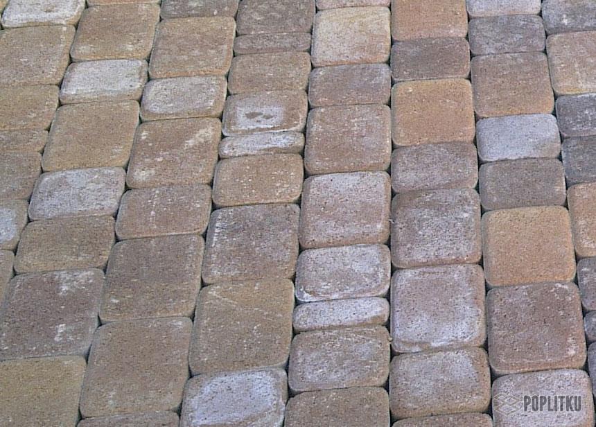 Как убрать высолы на тротуарной плитке и причины их возникновения 28-3