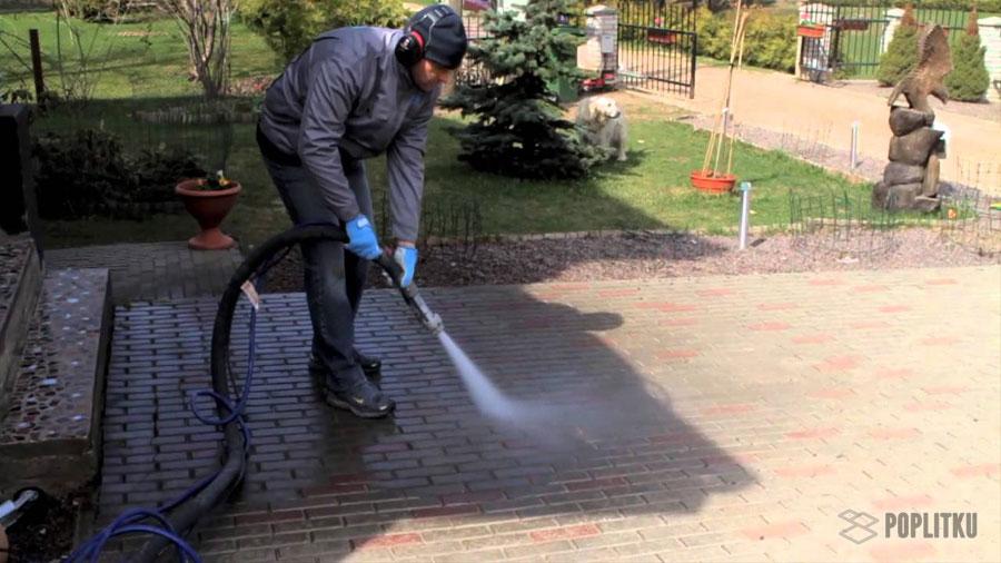 Как убрать высолы на тротуарной плитке и причины их возникновения 28-6