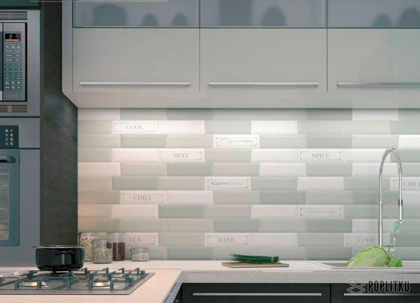 Как выложить фартук из плитки на кухне, его особенности и размеры 29-2