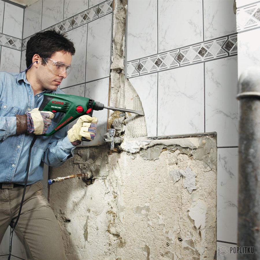 Подготовка стен под плитку в ванной: основные этапы 30-4