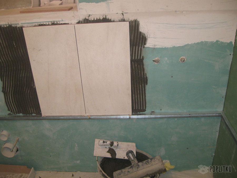 Подготовка стен под плитку в ванной: основные этапы 30-6