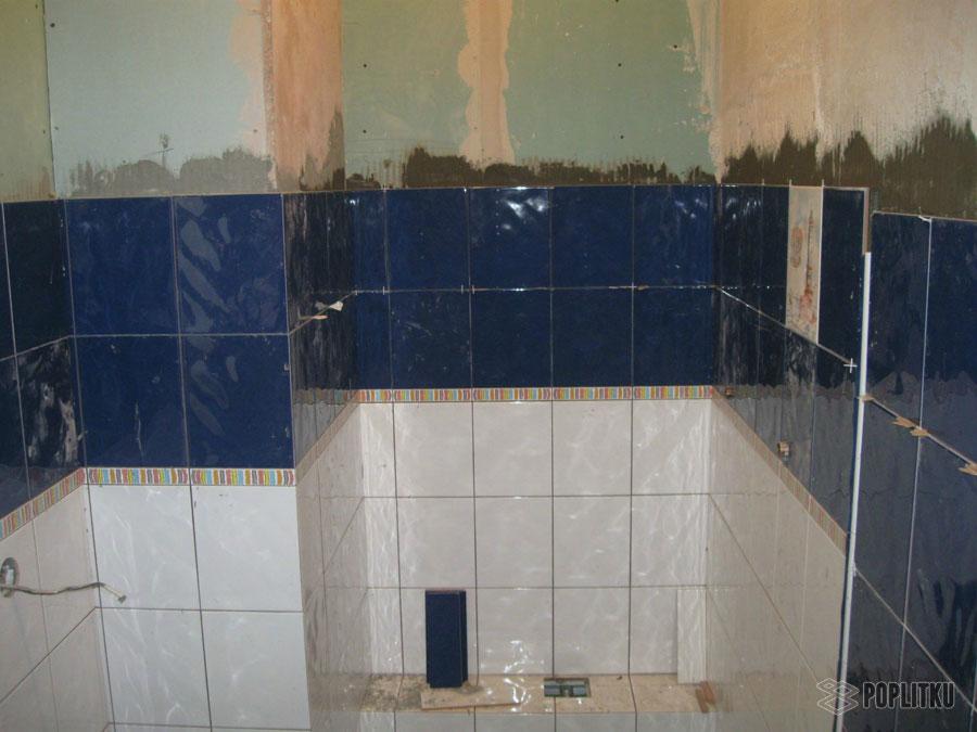 Подготовка стен под плитку в ванной: основные этапы 30-7