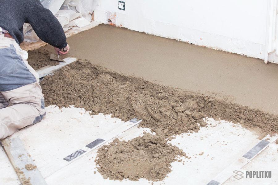 Как выровнять пол под плитку и стоит ли? 32-3
