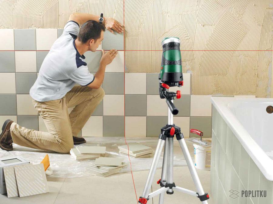 Как правильно класть плитку на стену на века 33-6