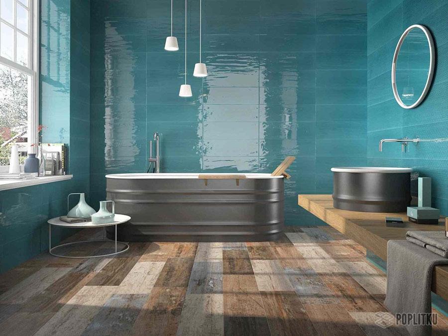 Варианты укладки плитки в ванной - дизайн интерьера 34-13