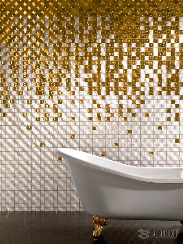 Варианты укладки плитки в ванной - дизайн интерьера 34-7