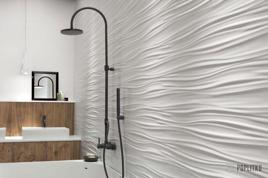 Варианты укладки плитки в ванной - дизайн интерьера 34-8
