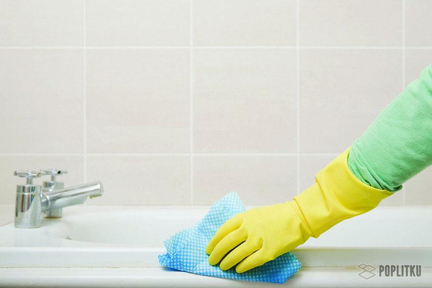 Чем отмыть плитку в ванной: 8 домашних методов 35-2
