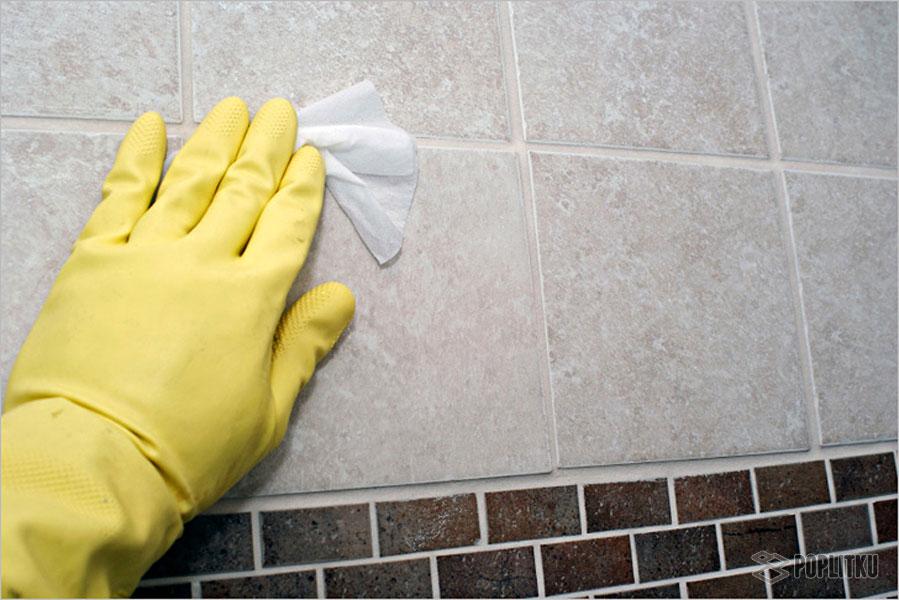 Чем отмыть плитку в ванной: 8 домашних методов 35-6