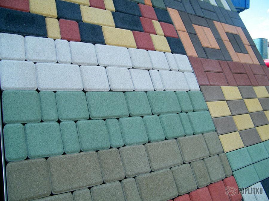 Изготовление тротуарной плитки в домашних условиях, помощь в выборе методики 36-15