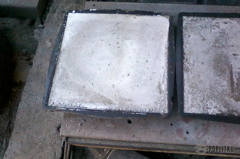 Изготовление тротуарной плитки в домашних условиях, помощь в выборе методики 36-2
