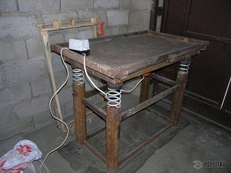 Изготовление тротуарной плитки в домашних условиях, помощь в выборе методики 36-5