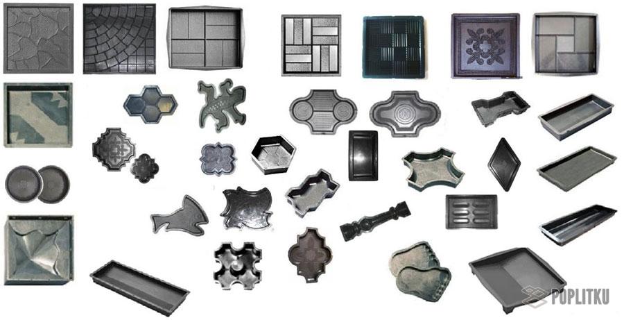 Изготовление тротуарной плитки в домашних условиях, помощь в выборе методики 36-9