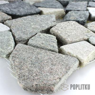 Мозаика разбитый мрамор базальт