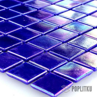 Синяя перламутровая мозаика