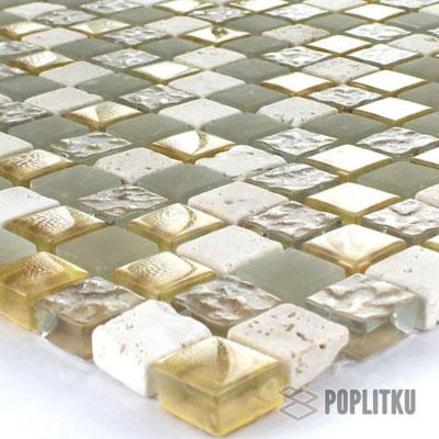Мозаика золотой микс