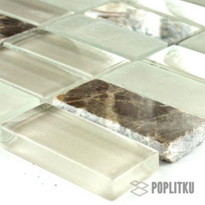 Мозаика из полированного стекла
