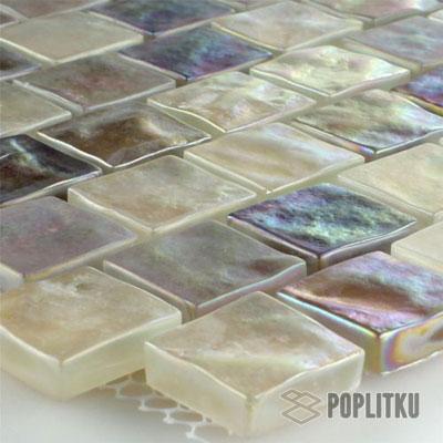 Перламутровая мозаика кремового цвета