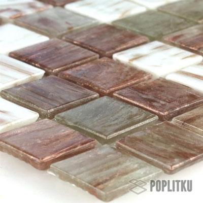 Бронзовая стеклянная мозаика